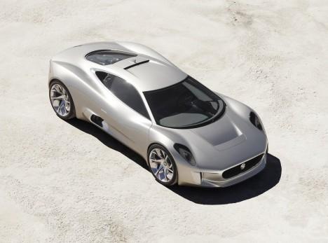 Le concept hybride C-X75 de Jaguar