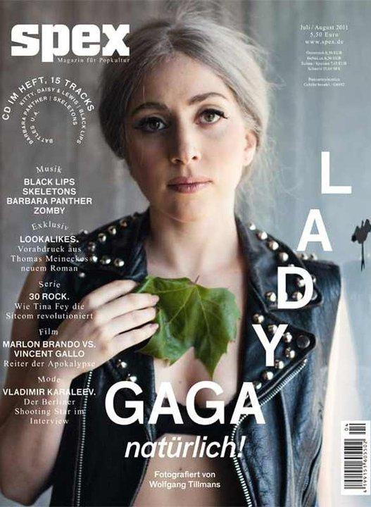 Lady Gaga au naturel