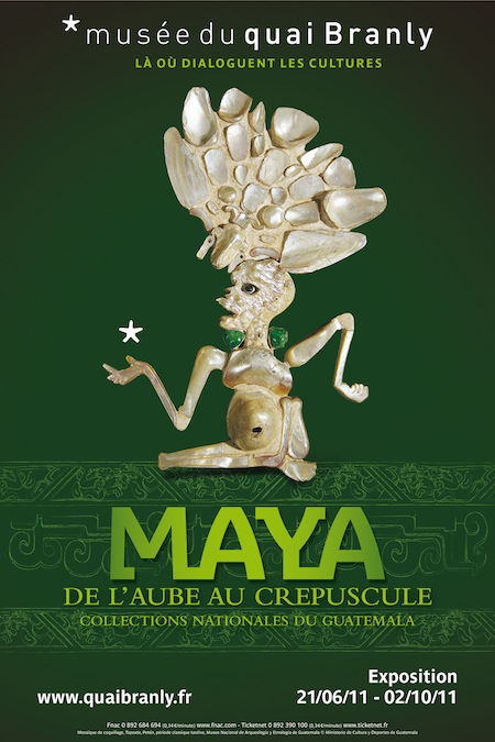 Exposition : Maya, Collections nationales du Guatemala – Quai Branly