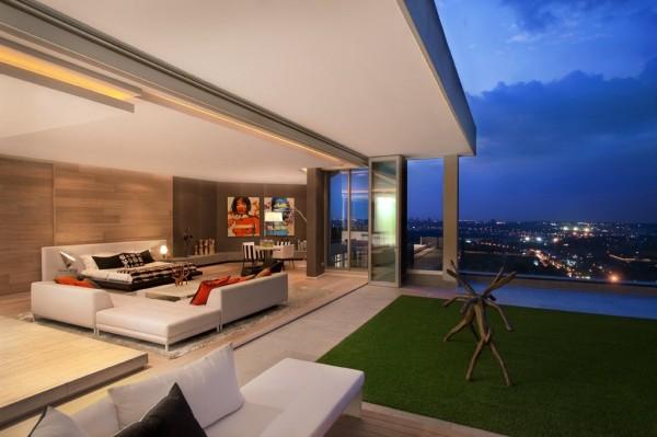 """Architecture : Les """"Sandhurst Towers"""" – Afrique du Sud"""