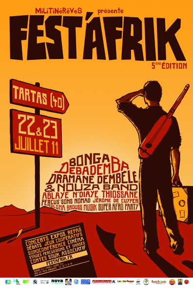 Festival FEST'AFRIK du 22 au 23 Juillet 2011 à Tartas
