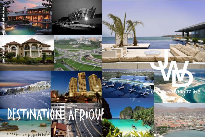 Carte Postale : Destination Afrique