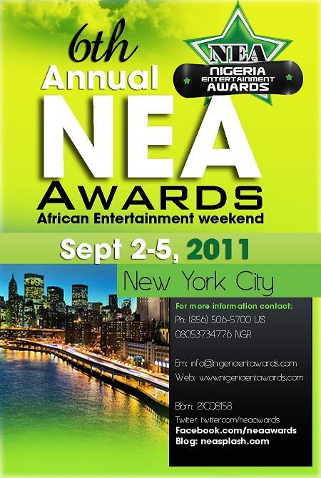 Les Nigeria Entertainement Awards du 2 au 5 Septembre 2011
