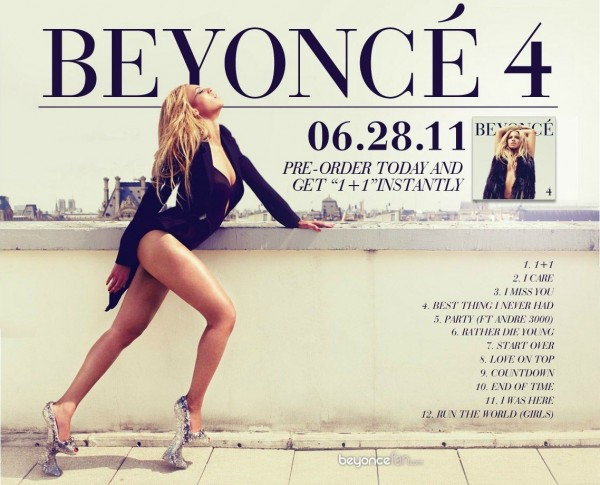 "Documentaire : ""Beyoncé : Year of 4 »"