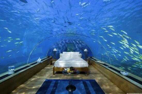 Adresse : Le Conrad Maldives Rangali Island Resort