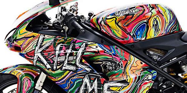 "Ducati : ""Kill Me Fast"" by Kristian van Hornsleth"