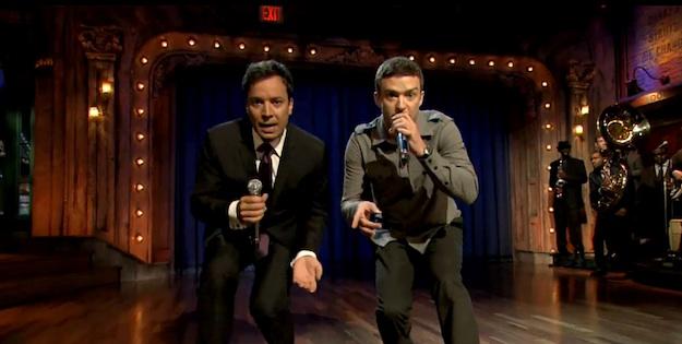 Rap History part 2 – Justin Timberlake et Jimmy Fallon remettent ça !