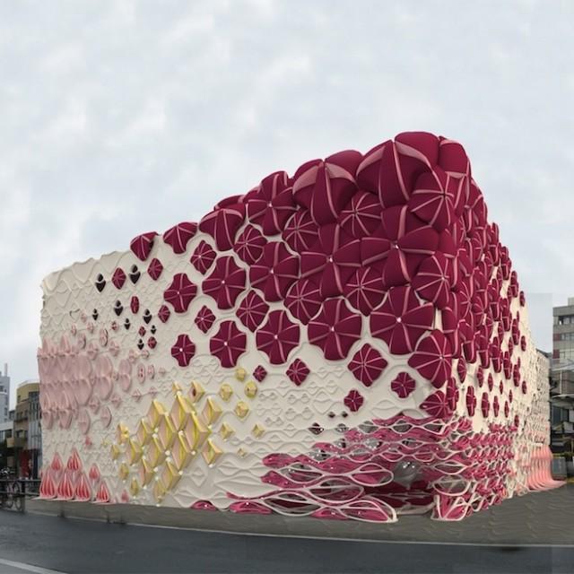 Architecture : Une boîte de nuit inspirée de bonbons – Tokyo