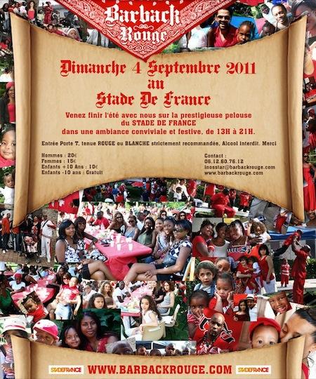 WandEvent : Le Barback Rouge – 4 septembre 2011 au Stade de France