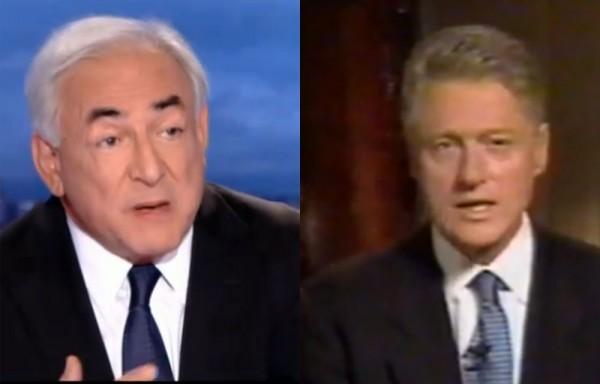 DSK/Clinton : Bonnet blanc-blanc bonnet ?