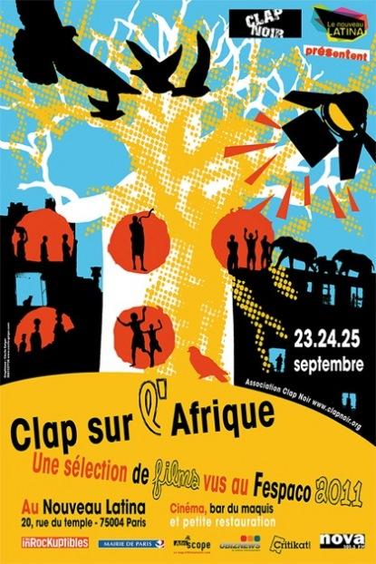 Clap sur l'Afrique : Le meilleur du Fespaco du 23 au 25 Septembre 2011 à Paris