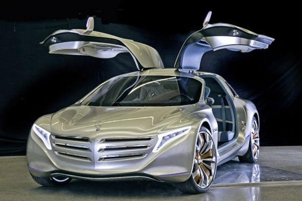 Auto : Mercedes concept hybride F125