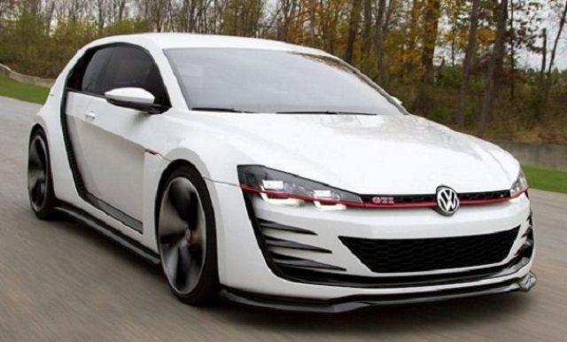 Auto : La Golf Design Vision GTI de Volkswagen