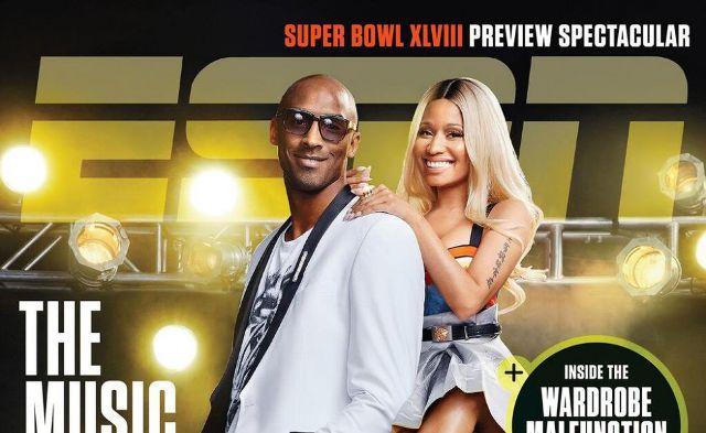 People : Nicki Minaj & Kobe Bryant pour le magazine ESPN