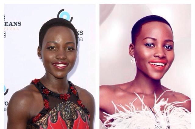 People : Vanity Fair éclaircit la peau de Lupita Nyong'o