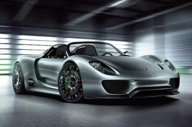 Auto : La Porsche 918 Spyder Hybride