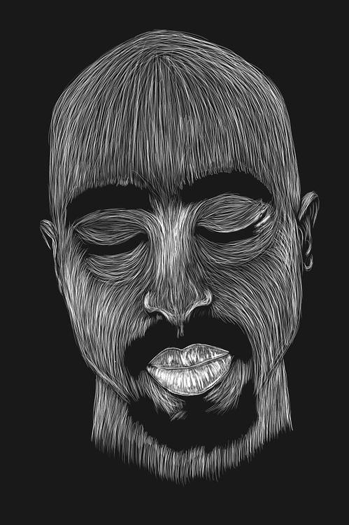 Graphic Art : Portraits by William Gazou