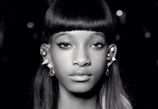 People : Willow Smith pose pour Karl Lagerfeld