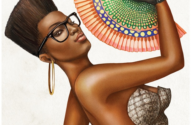 Graphic Design : African Pinups by Studio Muti