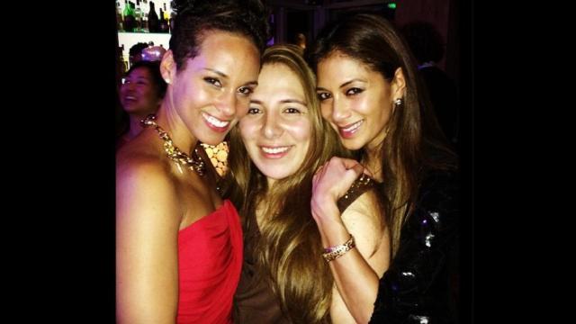Alicia Keys et Nicole Scherzinger