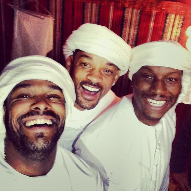 People : L'anniversaire de Molah Tyrese + 16 ans de mariage de Will et Jada à Dubai