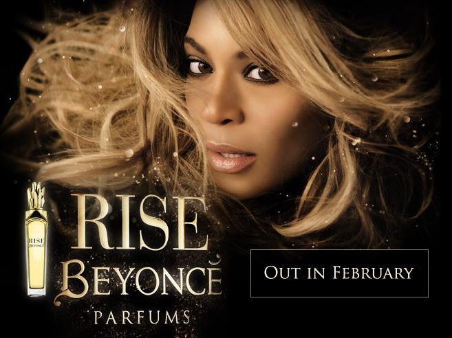 """People : """"Rise"""" le nouveau parfum de Beyoncé"""