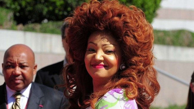 People : Chantal Biya sans fard