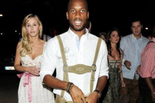 People : Didier Drogba ambassadeur d'une bière Namibienne