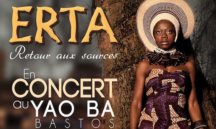Concert : Erta au Yaoba le 9 janvier 2014 à Yaoundé