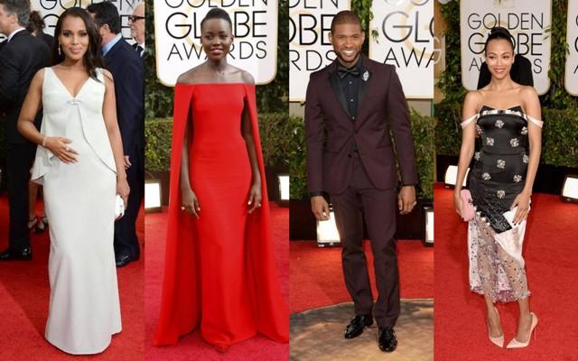 People : Golden Globes 2014 – Les Wanda Looks