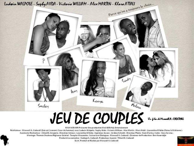 Cinéma : « Jeu de Couples » – Sortie le 14 février 2014 à Abidjan