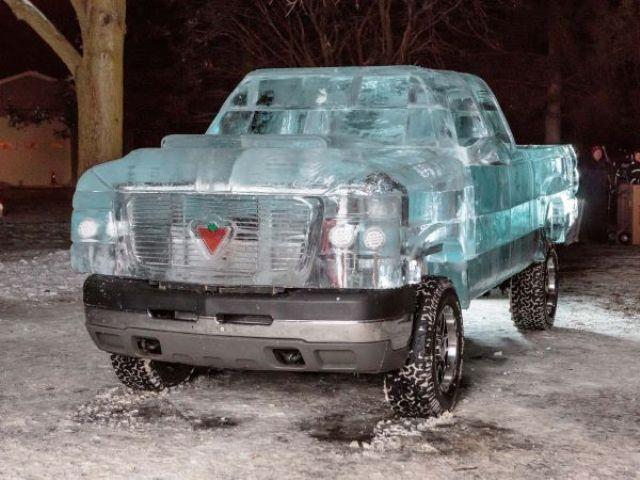 Auto : Le Pick Up de glace