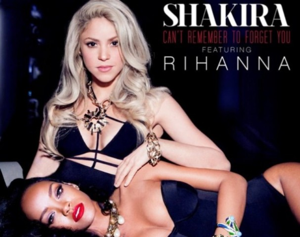 """Single : """"Can't remember to forget"""" – Shakira feat. Rihanna"""