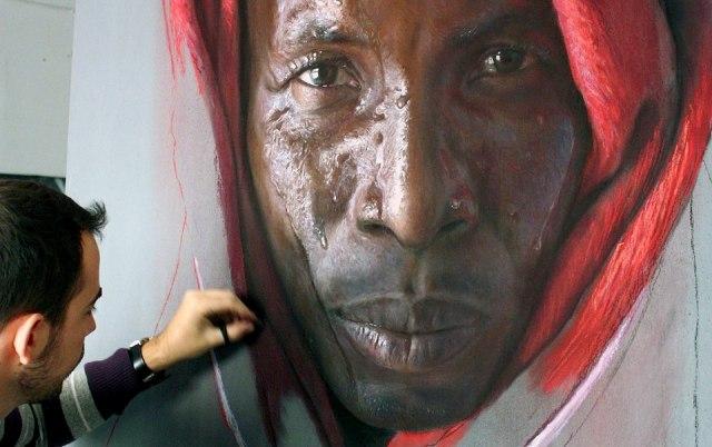 Art : Les portraits surréalistes de Ruben Belloso Adorna