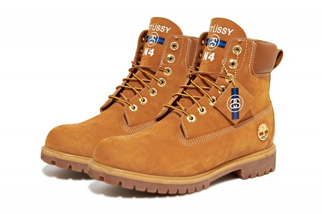 Mode : Timberland collabore avec Stussy