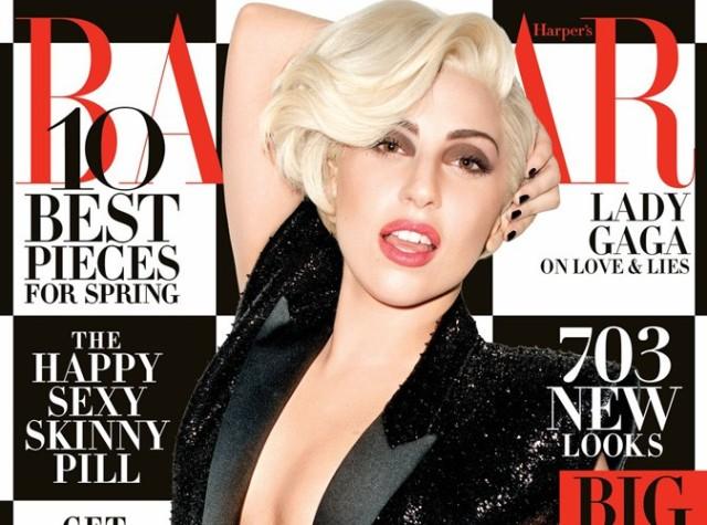 People : Lady Gaga presque normale pour le Harper's Bazaar