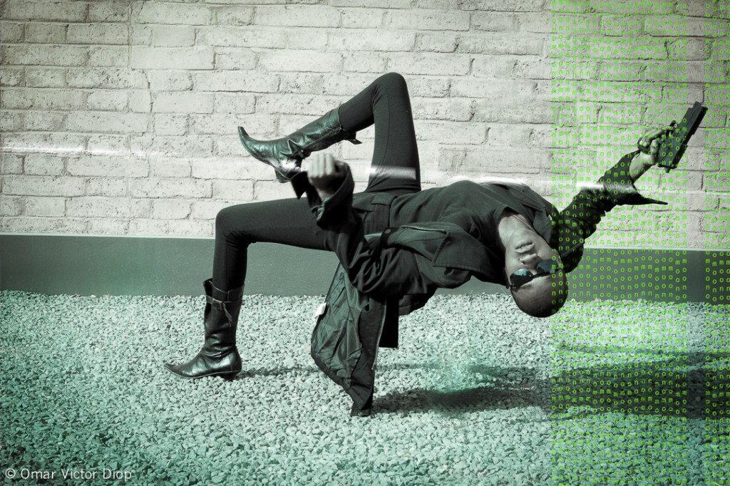 """The Matrix"", Onomo Dakar, 2013. Photo Omar Victor Diop"
