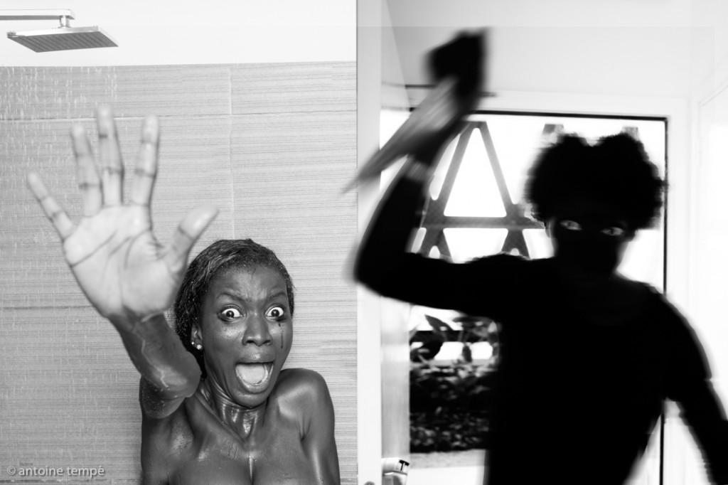 """Psycho"", Onomo Abidjan, 2013. photo antoine tempé"