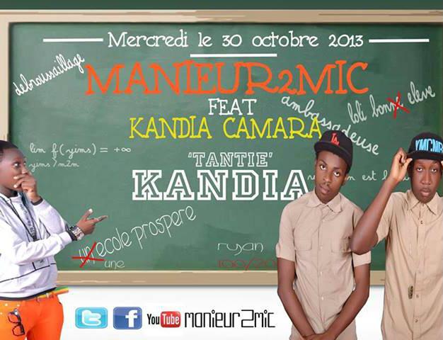 "Clip : ""Tantie Kandia"" – Manieur 2 Mic ft. Kandia Camara"