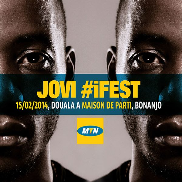 Concert : Jovi at iFest on February 15th 2014 in Douala