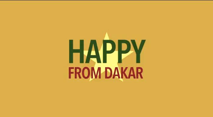 Vidéo : We are happy from Dakar