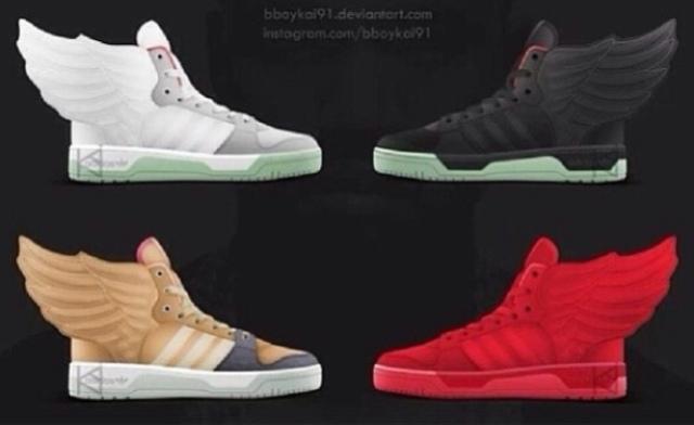 Jeremy Scott Adidas Kanye West