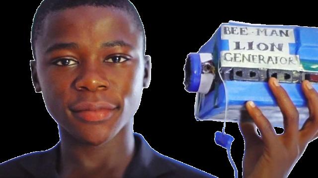Wandaful : Un sierra-léonais de 16 ans crée un générateur électrique pour son village !