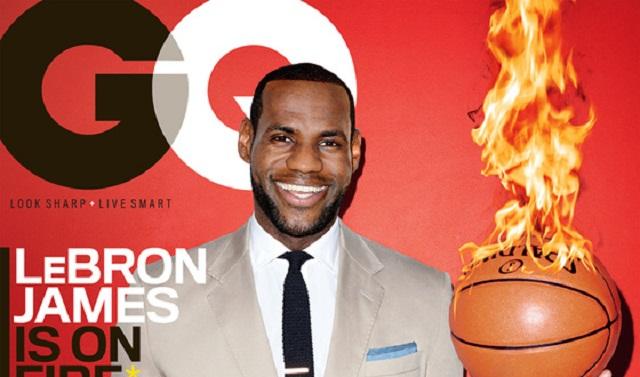 People : LeBron James revient sur son enfance dans GQ