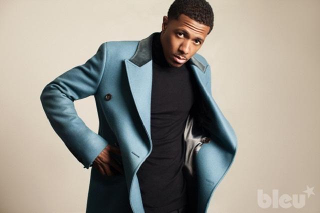 """People : Nick Cannon joue les chauds gars pour """"Bleu Magazine"""""""