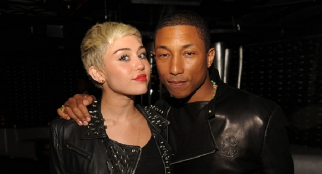 "Single : ""Come get it Bae"" – Pharrell Williams feat. Miley Cyrus"