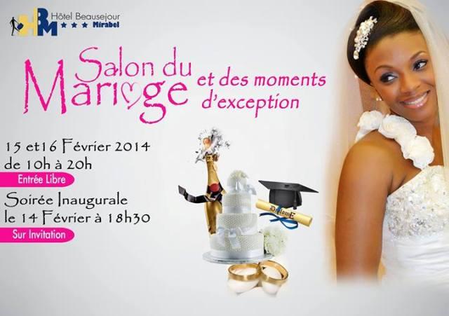 Lifestyle : Salon du mariage à Douala du 14 au 16 Février 2014