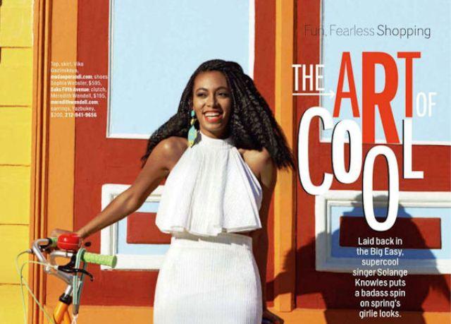 People : Solange Knowles pour le magazine Cosmopolitan