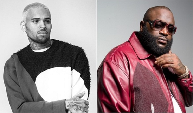 "Single : ""New Flame"" – Chris Brown ft. Rick Ross"