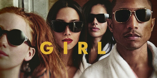 Musique : Pharrell Williams défend la pochette de son album G.I.R.L.